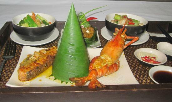 Khmer food picture of cheathata angkor hotel siem reap for Angkor borei cambodian cuisine