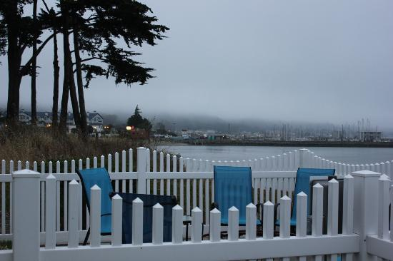 The Inn at Mavericks: View from the Jetty patio
