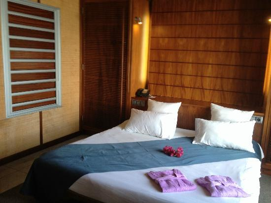 L'Escapade Island Resort: Bed