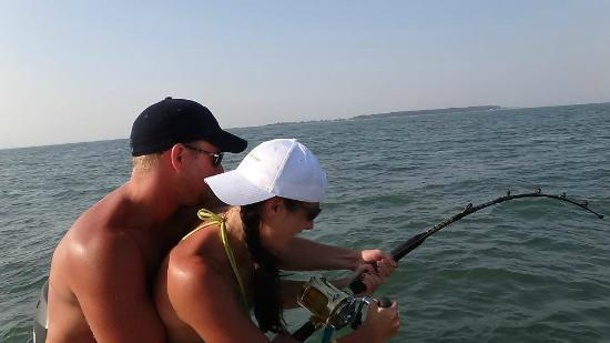 Picture of outcast sport fishing charters in hilton head hilton head