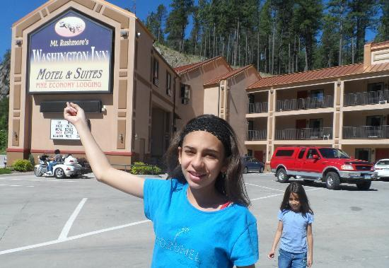 Mt. Rushmore&#39;s Washington Inn &amp; Suites: A view of Mt. Rushmore Washington Inn