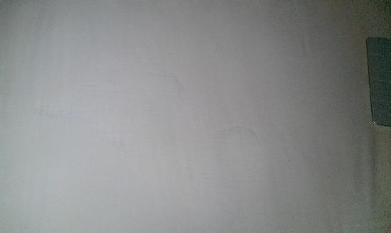 Quality Inn Maryland Heights: stains on sheets