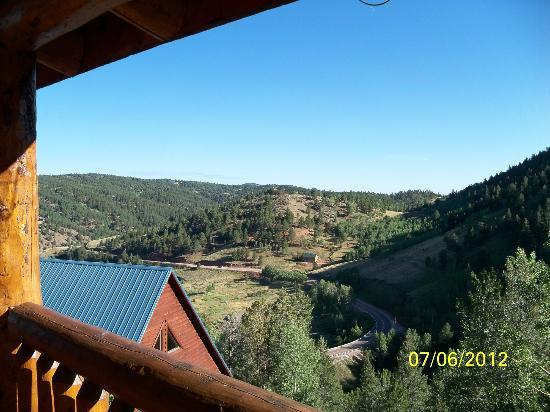 Stonehaven Inn Bed & Breakfast: View from the huge deck!