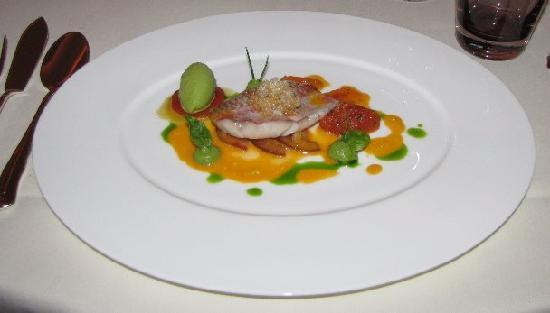 Restaurant Haerlin: red mullet fillet