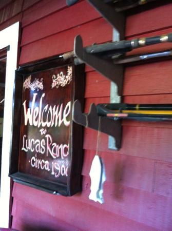 Lucas Pioneer Lodge: welcome