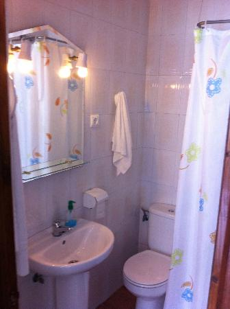 Hostal el Giraldillo: bathroom,all of them are privates