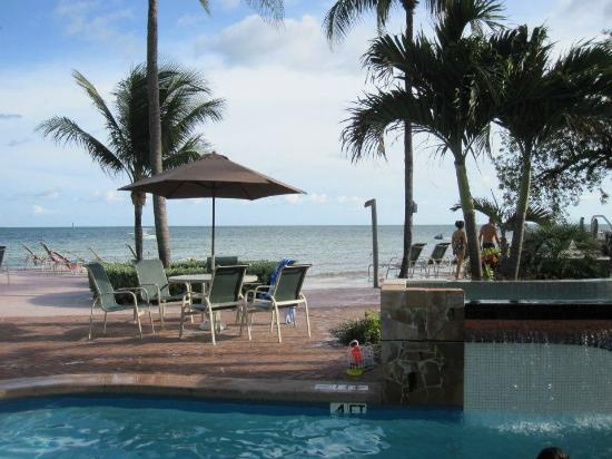Coconut Beach Resort: View from Pool