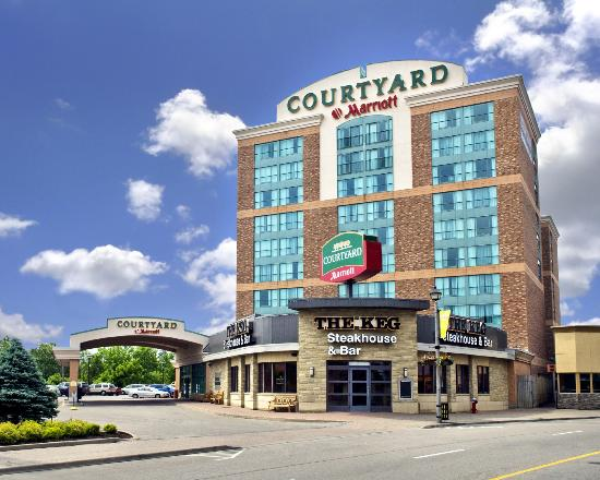 "Courtyard by Marriott Niagara Falls: We're located in the ""centre of it all."""