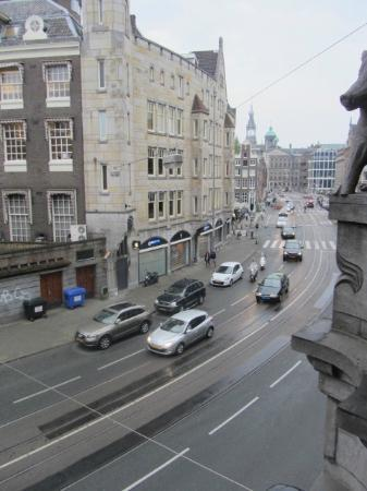Clemens Hotel: view from balcony