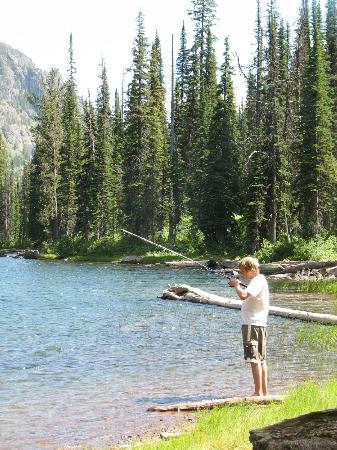 Swan Lake, MT: Fishing in the Bob Marshall Wilderness