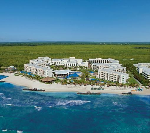 Secrets Silversands Riviera Cancun: Hotel View