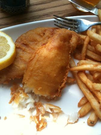 MacDowell Brew Kitchen: Crispy, flaky, not greasy fish & chips
