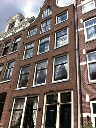 The Flying Pancake B&amp;B Amsterdam: Batiment