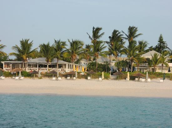 Sibonne Beach Hotel: Sibonne from a snorkeling tour boat