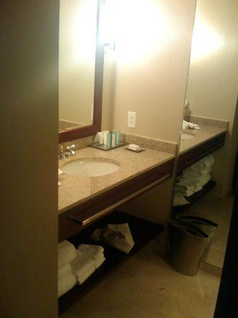 Hilton Seattle: Bathroom