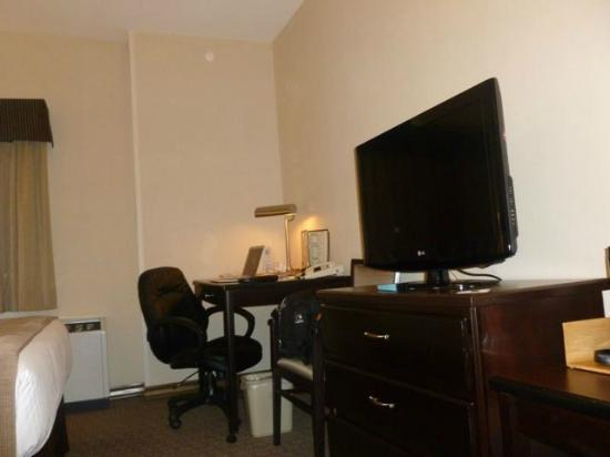 BEST WESTERN PLUS Baker Street Inn & Convention Centre: Desk