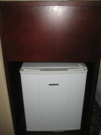 Chong Wen Men Hotel: Small refrigerator