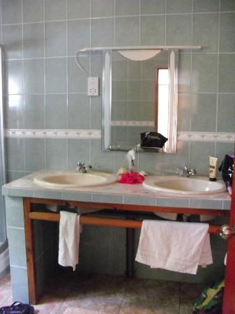 Villa anse possession: bagno