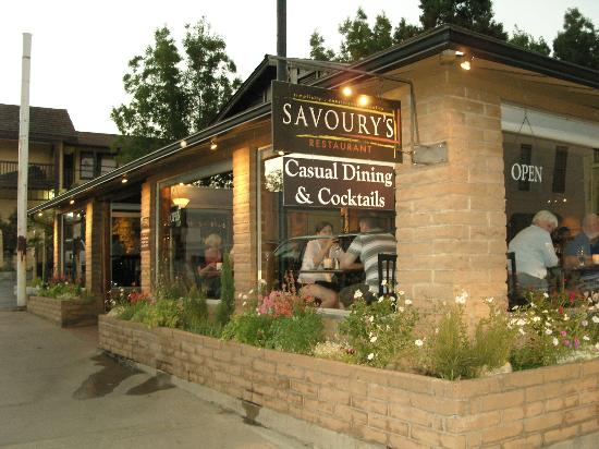 Mariposa, Californi: Savoury exterior
