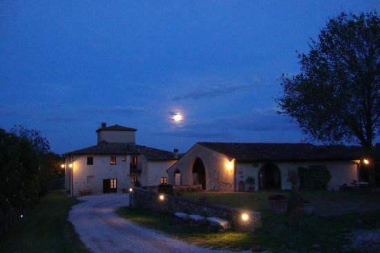 Agriturismo Poggiacolle: Another lovely night at Poggiacolle