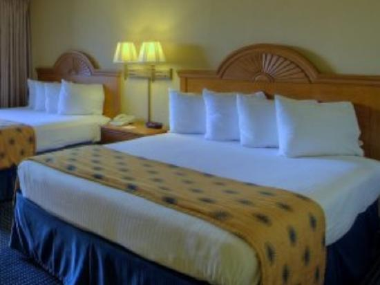 BEST WESTERN Crystal Palace Inn & Suites: Comfortable Clean Beds!