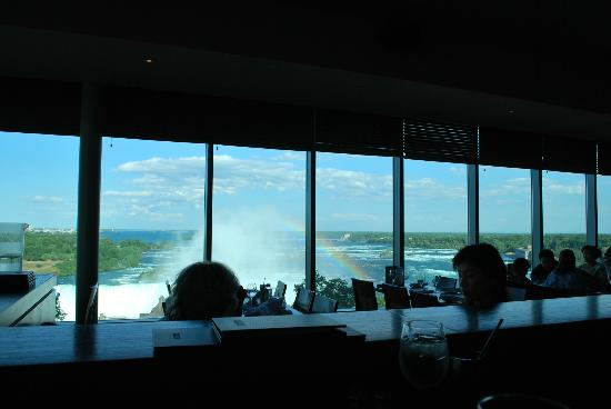 Skylon Tower Revolving Dining Room Restaurant  Niagara