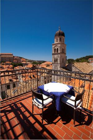 Hotel Stari Grad: Roof-top terrace