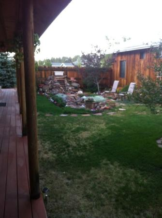 Grand Canyon Bed and Breakfast : le jardin