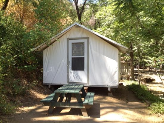 Indian Flat Campground: Our Tent Cabin