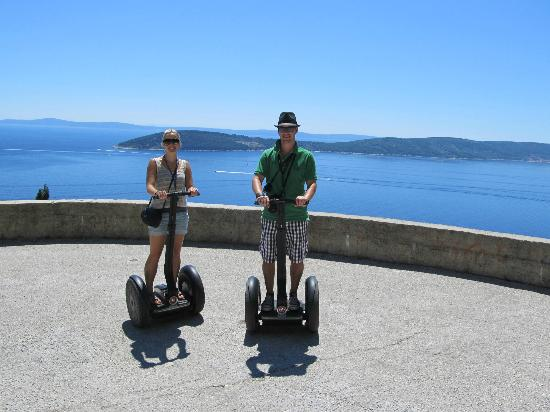 Segway Tour Split