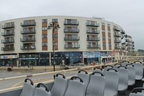 The Sands Apartments And The Local Shops Picture Of The Sands Sea Front Apartments
