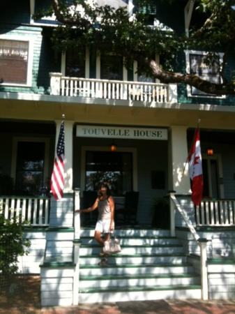 TouVelle House Bed & Breakfast: In front of TouVelle House