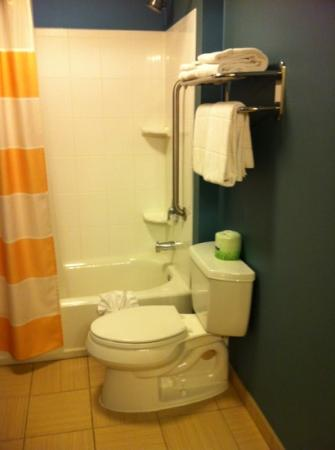 SpringHill Suites Corona Riverside: clean bathroom