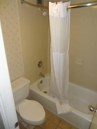 Days Inn Nashville at Opryland: Bathroom.