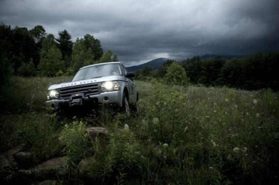 The Equinox Golf Resort & Spa: Land Rover Driving School