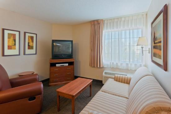 Candlewood Suites Harrisonburg : Queen One Bedroom Suite Sleeper Sofa