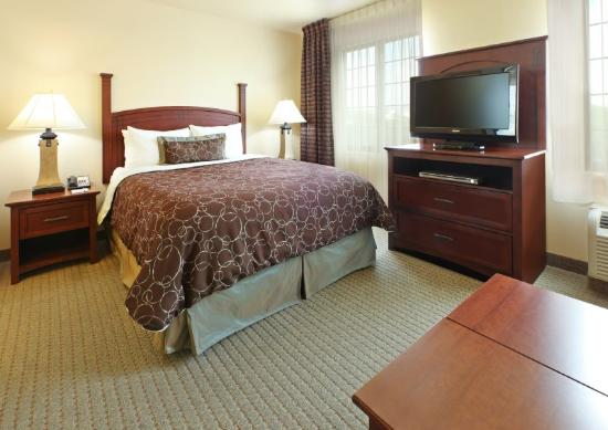 Staybridge Suites Fayetteville/Univ Of Arkansas: Queen Bed Guest Room Studio