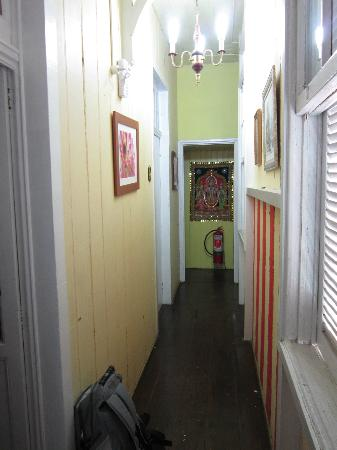 Pousada Shamballah: View of the corridor