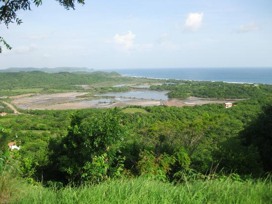 Two Brothers Surf Resort: View from the Main House looking towards Popoyo Beach