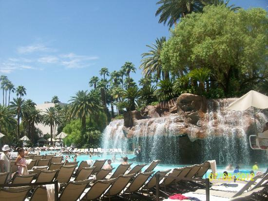 The Pool At The Mirage Beautiful Picture Of The