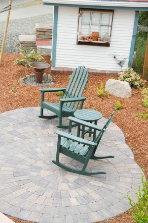 Country Willows Bed and Breakfast Inn: One of the informal nooks available for you and your book