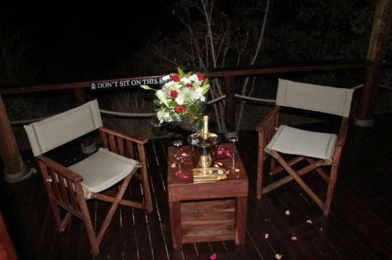 MolenVliet Lodge: Private Deck area