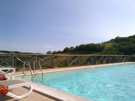 Villa Pian Di Cascina: the pool ...