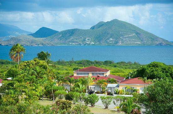 Newcastle, Nevis: A View from The Mount Nevis Hotel