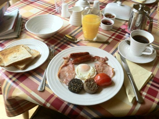 Mariaville House: Full Irish Breakfast