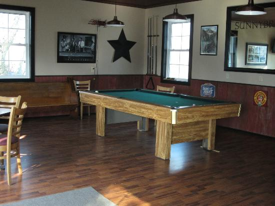 Farrell House Lodge: Game room