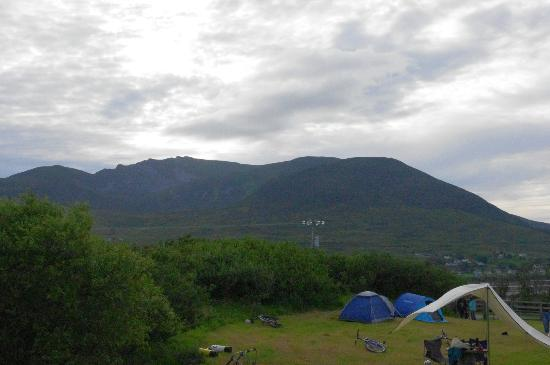 Derrylahan Hostel: View from campsite