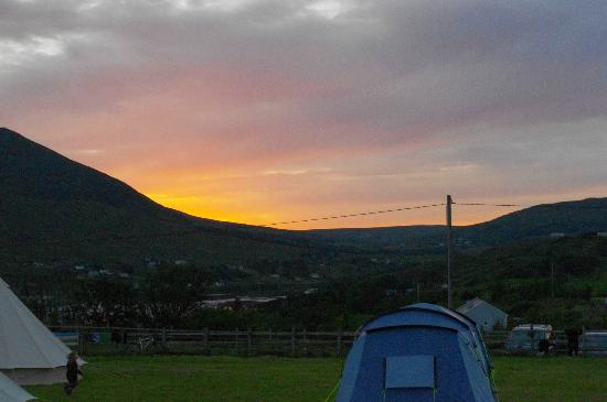 Derrylahan Hostel: Sunset