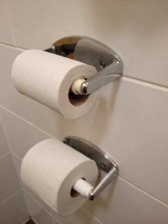Pollock Halls - Edinburgh First: two toilet roll holders?