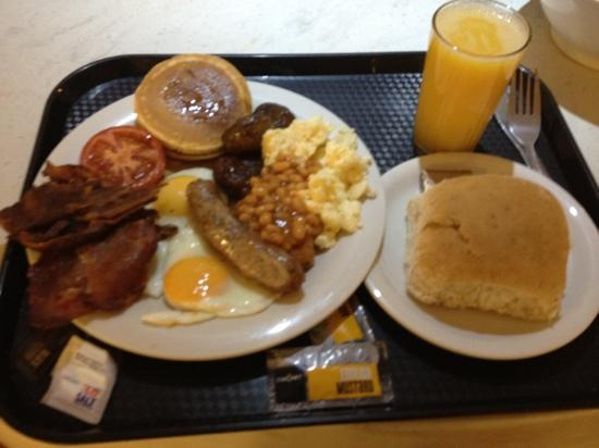 Pollock Halls - Edinburgh First: breakfast